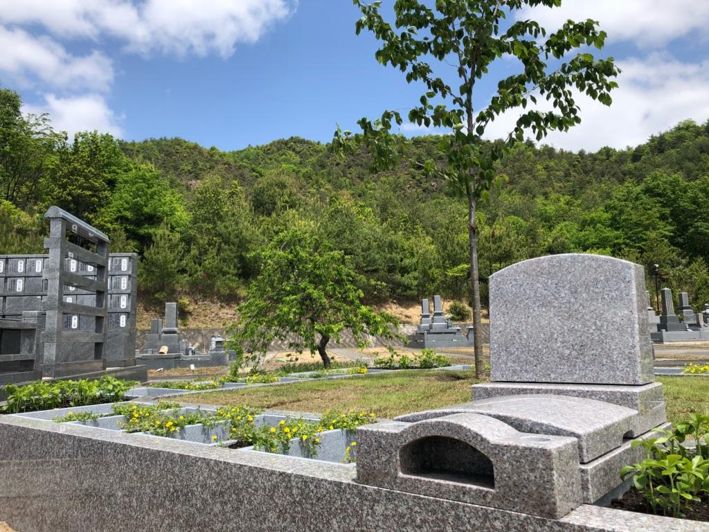 東広島墓地 森の国桜花ガーデン